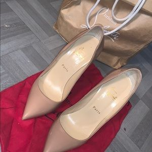 So kate Christian louboutin  heels